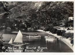 The Mahia Bay Tourist Resort, Marlborough Sounds, New Zealand - Vintage View Card 8.5 X 7 Cm, Unused - New Zealand