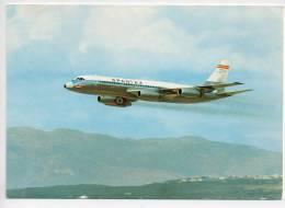 Ref 105   :  CPSM Aviation SPANTAX Convair CV 900 A Coronado - 1946-....: Moderne