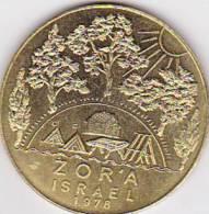ZORA ISRAEL 1976  -   4 Cm, 20 GRAMM --  JUDISCHER NATIONALFONDS - Entriegelungschips Und Medaillen
