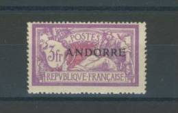 ANDORRE -   N°  20 - Andorre Français