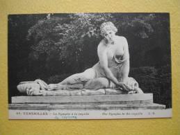 VERSAILLES. Le Château. Le Parc. La Nymphe à La Coquille. - Versailles (Château)