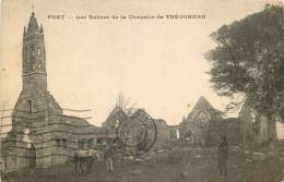 22 - PRAT - Les Ruines De La Chapelle De TREVOAZAN - Otros Municipios