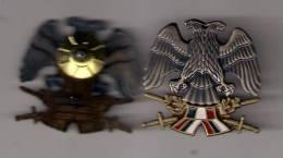 Army Of  Serbia Yugoslavia,metal Badge (1992-2003) - Armée De Terre