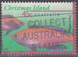 Christmas Island 1996 Michel 419 O Cote (2005) 0.70 Euro Anthiinae - Christmas Island