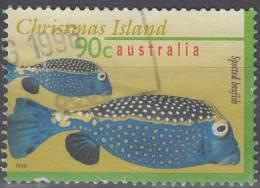 Christmas Island 1996 Michel 420 O Cote (2005) 1.40 Euro Coffre Pintade Cachet Rond - Christmas Island