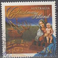 Christmas Island 1996 Michel 424 O Cote (2005) 0.80 Euro Noël Cachet Rond - Christmas Island