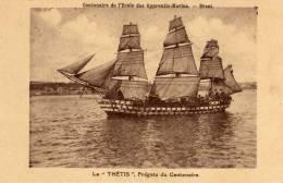 /29/  BREST LA THETIS FREGATE DU CENTENAIRE APPRENTIS MARINS - Brest