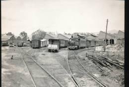 Train  ---  Vue Generale Du Depot De Huelin --- 1962 - Trains