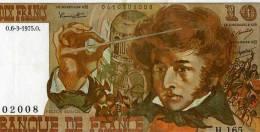 FRANCE BILLET BANQUE DE FRANCE 10 DIX FRANCS HECTOR BERLIOZ - 1962-1997 ''Francs''