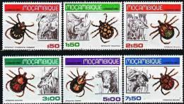 MOZAMBIQUE Insectes Serie Complete (yvert: 731/36) Neuf Sans Charniere. ** MNH - Non Classés