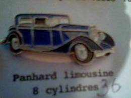 Panhard Limousine 8 Cylindres - Pins