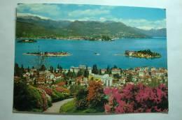 Stresa - Lago Maggiore - Panorama Con Le Isole Borromee - Verbania
