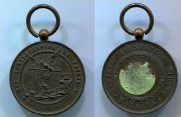 Medaglia Bologna Società Ginnastica Virtus, Ottime Condizioni - Monete & Banconote