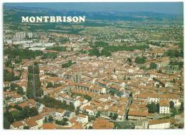 CPM MONTBRISSON VUE GENERALE AERIENNE - Montbrison