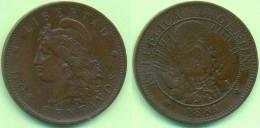 Argentinien 1884, Libertad Dos Centavos, 2 Centavos - Argentine