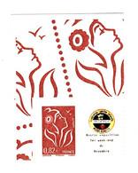 Lamouche 0.82 € Philaposte Personnalisé Autoadhésif Petit Logo YT 3802 Bb . Voir Scan. Cote YT : 15 € Maury N° 58 : 14 € - Personalized Stamps