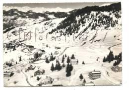 Méribel-les-Allues (73) :Vue Aérienne Génrale Au Niveau De La Station En Hiver En 1954. - Sonstige Gemeinden