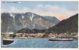 ALASKA  Juneau Seapost  Seattle & Skagway  RPO East 1923 - Juneau
