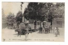 ARDÈCHE  /  PRIVAS  /  CHAMP-DE-MARS  /  GARE  DES  TRAMWAYS  DE  L' ARDÈCHE  ( Train Et Locomotive En Gros Plan ! ) - Privas