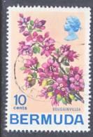 Bermuda 262  (o)  1970 Issue  FLOWERS - Bermuda