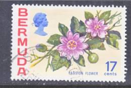 Bermuda 322  (o)  1975 Issue  FLOWERS - Bermuda