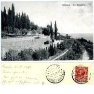 Fiesole, Via Mantellini, 22.4.1911 - Firenze (Florence)