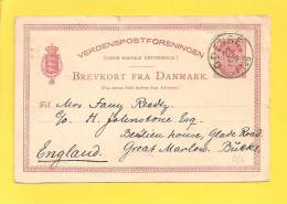 DANEMARK Entiers Postaux Lot N° 211 - Interi Postali