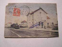 Jeanneyrias La Gare 1912 - Francia