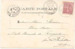 CHARENTE INFERIEURE - Cachet De MORNAC - Marcophilie (Lettres)