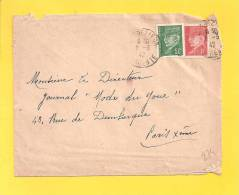 Lettre N° 508 514 Obl De Charente - 1941-42 Pétain