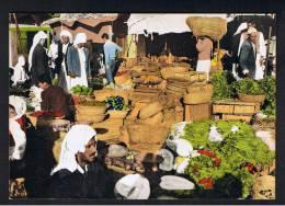 RB 909 - Ethnic Postcard - Vegetable Market - Bahrain - Bahrain