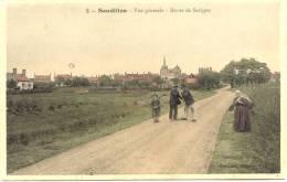 SANDILLON : Vue Générale - Route De Savigny - France
