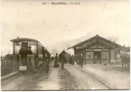 SANDILLON : La Gare - France