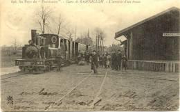 """SANDILLON : Au Pays Du """"Provisoire"""" - Gare DeSandillon - L´arrivée D´un Train - France"""
