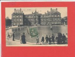 75 PARIS Cpa Animée Le Palais Du Luxembourg       1141 CM - Arrondissement: 06