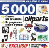 5000 CLIPARTS - CD-ROM - CD