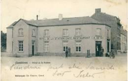 Gembloux- Top Carte - Hôtel De La Station -1906 ( Voir Verso ) - Gembloux
