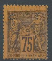 Lot N°20864     N°99, Oblit Cachet A Date - 1876-1898 Sage (Type II)