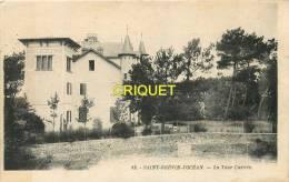 Cpa 44 St Brévin, La Tour Carrée, Cliché Peu Courant - Saint-Brevin-l'Océan