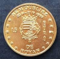 1,5 Euro Temporaire Precurseurde ROYAN  1996,  7000 Ex. Only, RRRR, Laiton, MS, Little Bit Used, Nr. 582 - Euro Der Städte
