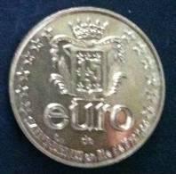 1,5 Euro Temporaire Precurseur De St. DENIS  1996, Only 5000 Ex.  RRRR, Bronce, Nr. 621 - Euro Der Städte