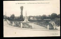 78 HARDRICOURT / Le Monument Aux Morts / - Hardricourt