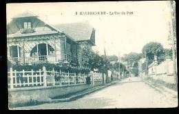 78 HARDRICOURT / La Rue Du Port / - Hardricourt