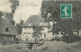"""CPA FRANCE 76 """"Longueuil, Ferme"""" - France"""