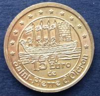 1,5 Euro Temporaire Precurseur SAINT-PIERRE D´OLERON, 1997,  4000 Ex. Only, RRRR, Bronce, Nr. 649 - Euro Der Städte