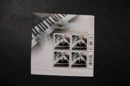 Canada 2118 Oscar Peterson Jazz Composer Souvenir Sheet Of Four MNH 2005 A04s - Blocs-feuillets