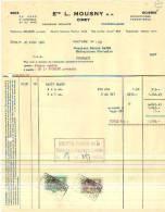 Ciney - 1961 - Ets L. Mousny - Panneaux Isolants - Belgique