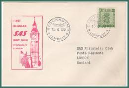 STOCKHOLM > LONDON 16/5/1955 - Svezia