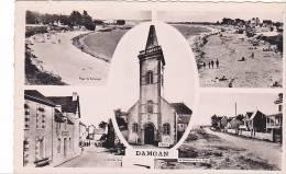 21460 DAMGAN - MULTIVUES - 56 -kervoyal Boulevard Plage Grande Rue Eglise -Gaby - Damgan