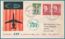 STOCKHOLM > GENEVE 17/7/1959 - Svezia